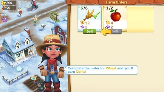 Farmville 2 Country Escape selling items