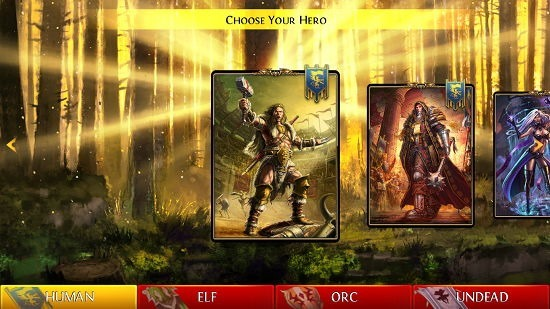 Order & Chaos Duels select hero