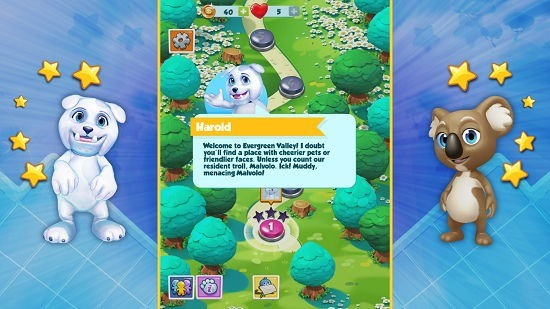 Puzzle Pets main screen