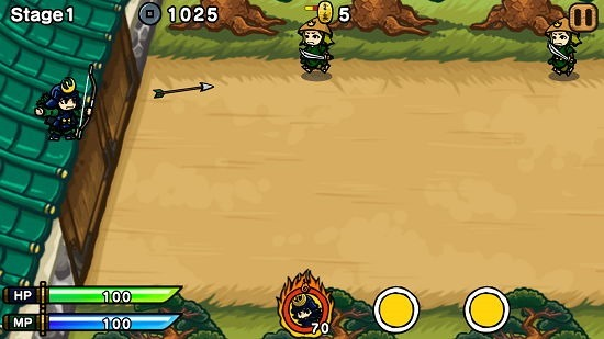 Samurai Defender Free gameplay