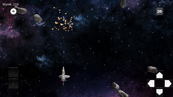 Space Shooter 3D Gameplay