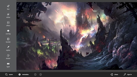 Autodesk Pixlr image opened
