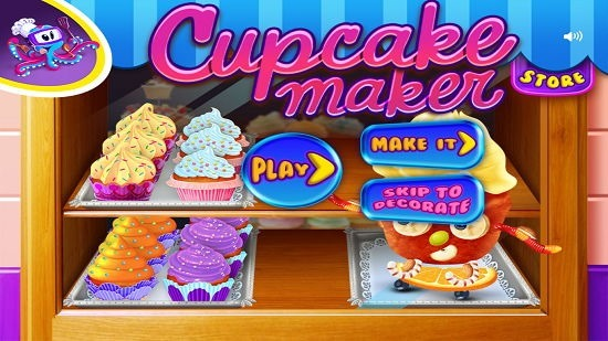 Cupcake Crazy Chef select option
