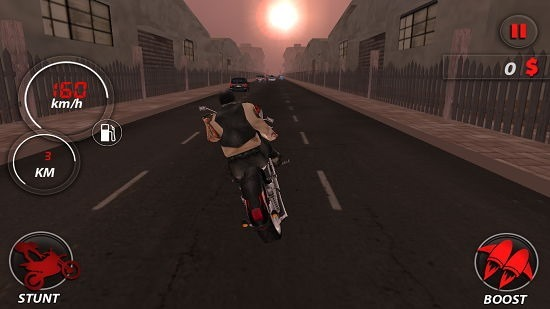 Highway Stunt Bike Riders Pro stunt execution
