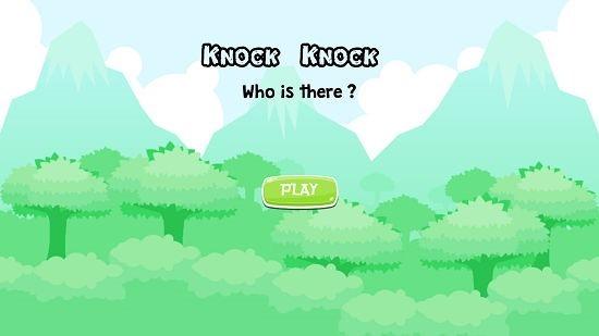 Knock Knock Main Screen