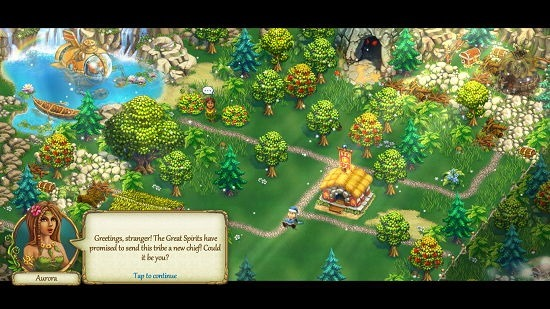 The Tribez main screen