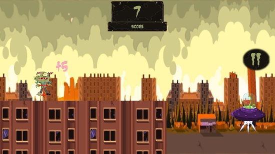 Zombie Pogo Gameplay