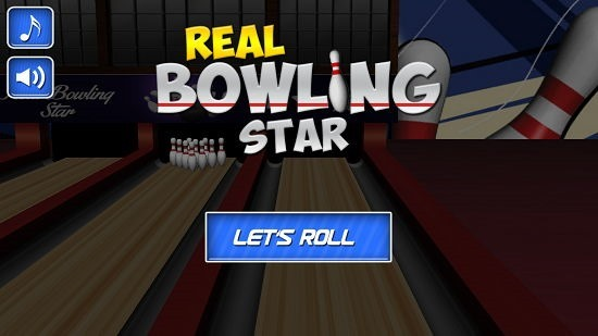 Real Bowling Star main menu