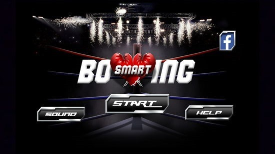 Smart Boxing 3D Main Screen