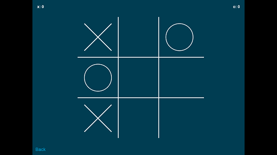 Tic Tac Toe gameplay