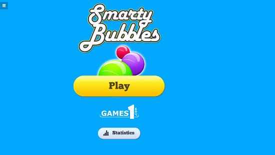 Bubble Shot Main Screen