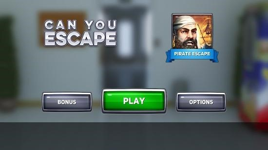 Can You Escape main screen