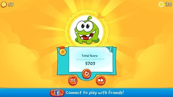 Cut The Rope 2 coins and score