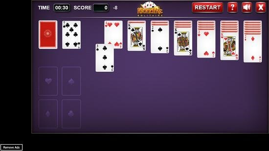 Klondike Solitaire   gameplay