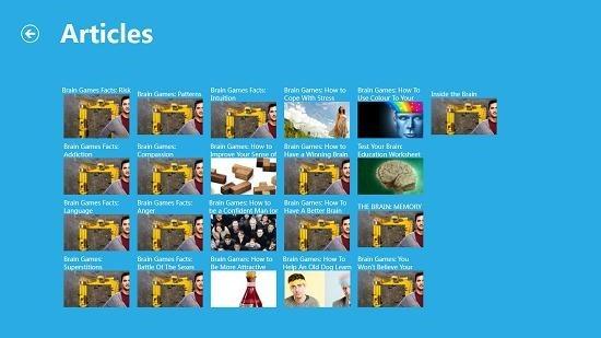 Nat Geo Brain Games Article List