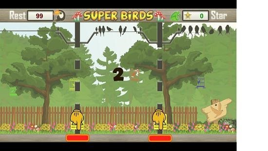 Super Birds controls