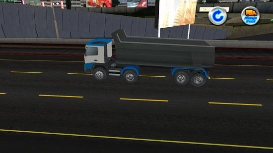 Trailer Truck Simulator 3D truck changed