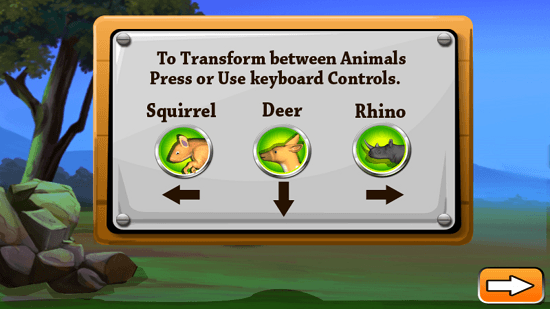 Animal Transformer Run transform