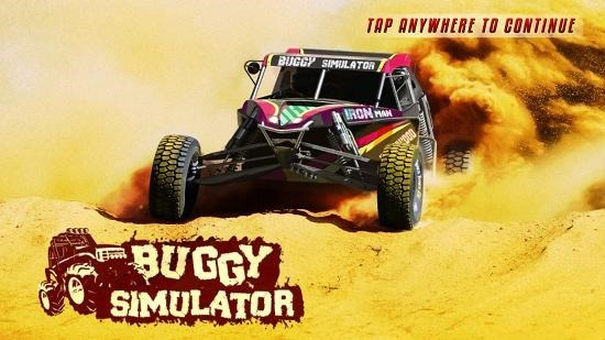 Buggy Simulator Main Screen