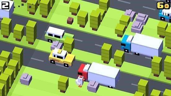 Crossy Road gameplay