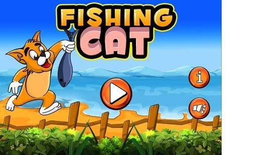 Fishing Cat Main Screen