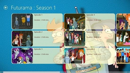 Futurama - Fun Unlimited select episode