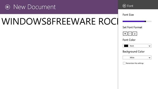 Modern Notepad Set Font