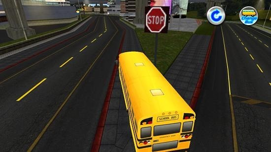 School Bus Simulator bus driving