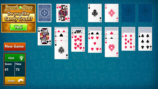 Free Solitaire Game for Windows 8
