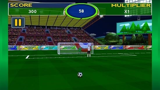 Soccer Championship 3D gameplay
