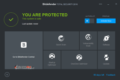 BitDefender Total Security 2017 Product Key 100% Working