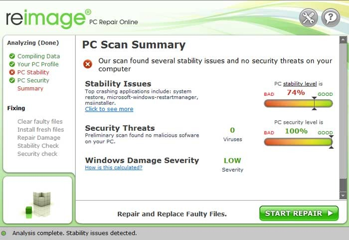 Reimage PC Repair 2017 License Key + Crack Free Download