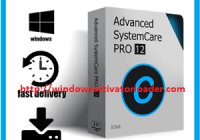 Advanced SystemCare Pro 12 Crack + Licence Key Download 2019