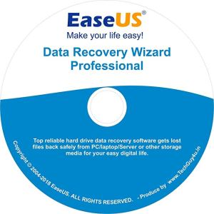 EaseUS Data Recovery Wizard 12.9.1 Crack+Product Key Download 2019