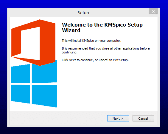 Installing KMSpico for Office