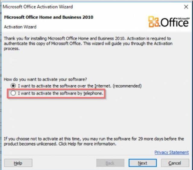 Microsoft Office 2010 genuine serial key