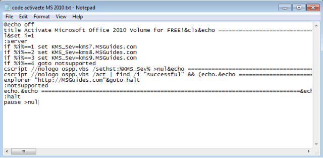 how to use Microsoft Office 2010 Product Key