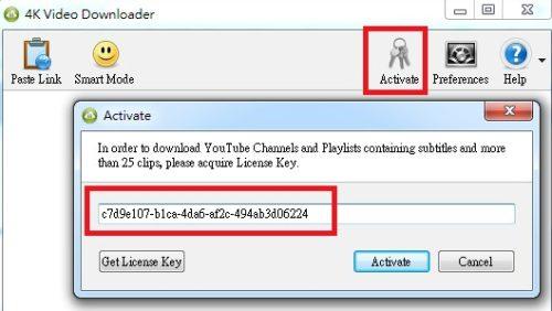 4K Video Downloader activation key