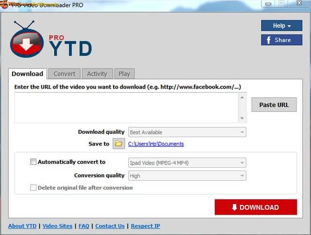 YT Downloader free crack