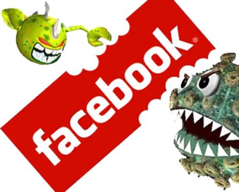 facebook rojo