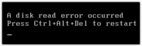Error de disco
