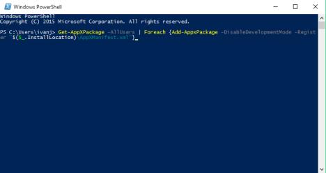 Solución con PowerShell en botón de Inicio en Windows 10