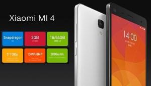 Xiaomi Mi 4 con Windows 10 Mobile