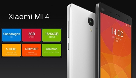 Xiaomi Mi 4 con Windows 10 Mobile
