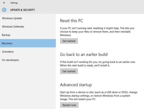03 Hacer un Reset a Windows 10