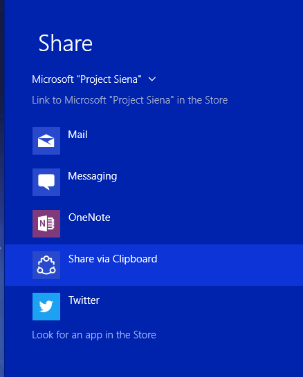 aplicaciones de Windows 10 en Store