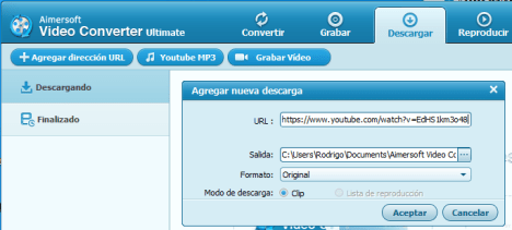 AimerSoft Video Converter 03