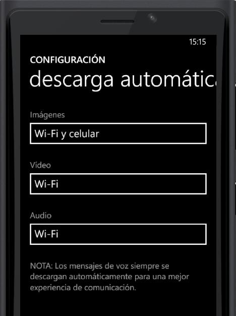 Descarga automatica WhatsApp en Windows 10