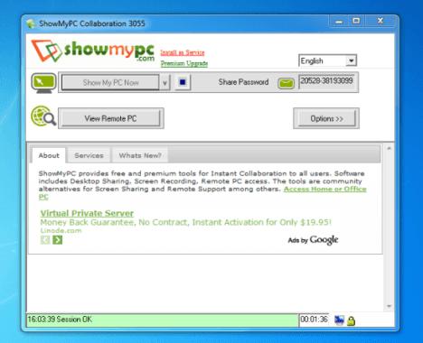 controlar un PC con ShowMyPC