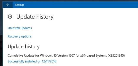 parche KB3201845 Windows 10